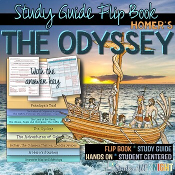 THE ODYSSEY READING LITERATURE GUIDE AND GREEK MYTHOLOGY F