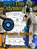 THE ODYSSEY AND GREEK MYTHOLOGY CHARACTER PAGES