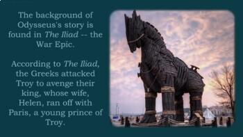 The Odyssey - Introduction Notes, Prezi, Secondary