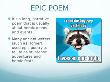 The Odyssey Introduction Powerpoint
