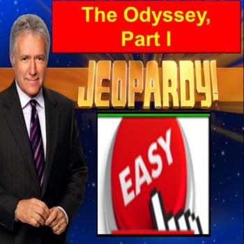 The Odyssey Jeopardy PowerPoint: Part I