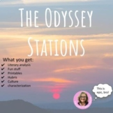 The Odyssey Epic Literacy Stations Distance Learning