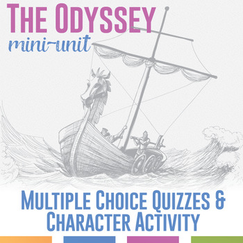 The Odyssey Multiple Choice Quizzes and Study Cards