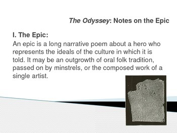 The Odyssey: Notes on the Epic