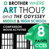 The Odyssey / O Brother Where Art Thou Movie Activities, Lyric Analysis, CCSS