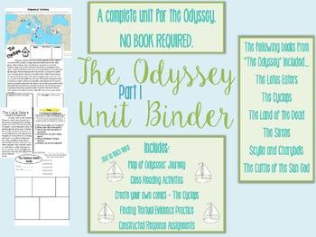 The Odyssey Part 1 Unit Binder