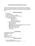 The Odyssey Personal Narrative Paper