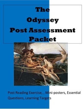The Odyssey Post Assessment Packet: Literary Devices
