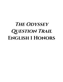 The Odyssey Question Trail - Honors