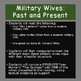 The Odyssey, Reading Handouts:  Compare Penelope with Modern Military Wives
