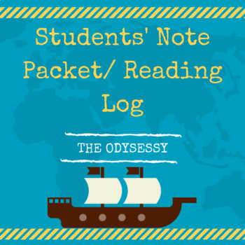 The Odyssey Reading Log