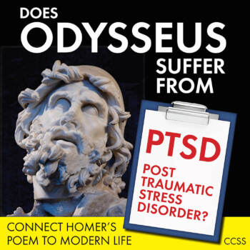 The Odyssey, Review Activity for Homer's Epic Poem, Does Odysseus Have PTSD?