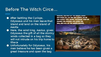 """The Odyssey: Review Part 2 (""""Witch Circe"""", """"Land of the Dead"""" &  """"The Sirens...)"""