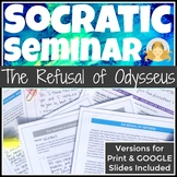 The Odyssey High School Socratic Seminar Discussion in Print and Google Slides