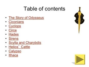 The Odyssey Supplementary Novel Unit