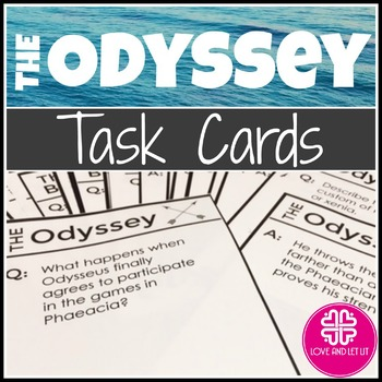 The Odyssey Task Card Activity Pack