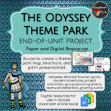 The Odyssey Theme Park: End-of-Unit Project (Paper and Digital Resources)