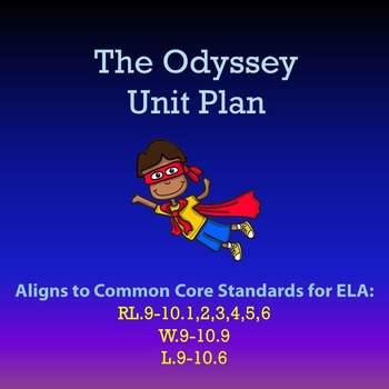 The Odyssey Unit Plan {11 Books}
