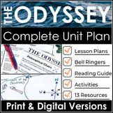 The Odyssey Unit Plan Bundle & Literature Guide w/ Google