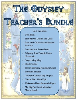 The Odyssey Unit Plan - Teacher's Bundle