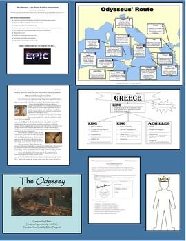 The Odyssey Unit Plan - Teacher's Bundle