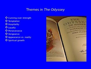 The Odyssey Unit PowerPoint