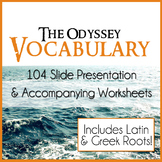 The Odyssey Vocabulary