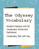 The Odyssey Vocabulary Words and Test