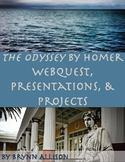 The Odyssey by Homer WebQuest, Presentations, Projects