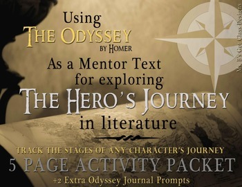 The Odyssey as a Mentor Text Activity Packet