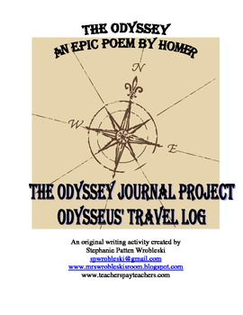 The Odyssey by Homer: A Journal Writing Assignment