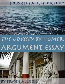 The Odyssey Hero Essay Teaching Resources  Teachers Pay Teachers The Odyssey By Homer Argument Essay Is Odysseus A Hero Ghostwriter Uk also Assignment Help Malaysia  English Essays Examples