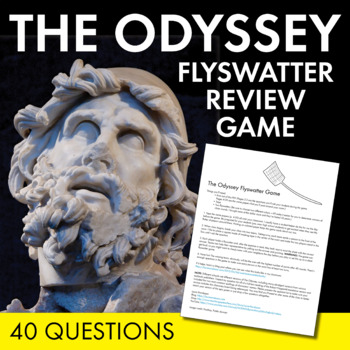 The Odyssey by Homer – Fun Flyswatter Game for Review of Homer's Epic Poem