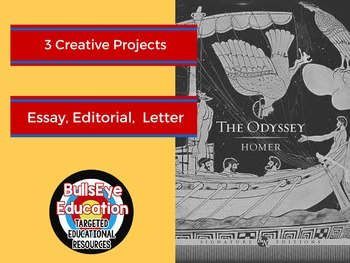 The Odyssey by Homer: Three Creative Writing Project Prompts