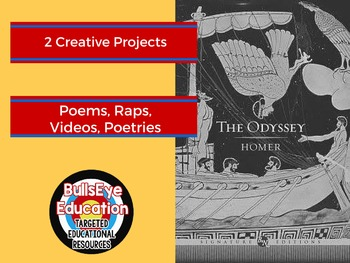 The Odyssey by Homer: Two Creative Project Prompts