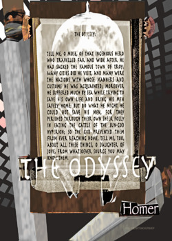 The Odyssey text/image