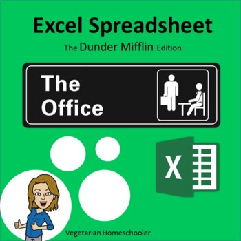 The Office - Excel Spreadsheet (PBL) by Mindy Carson | TpT