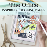 The Office Inspired Coloring Pages by Taracotta Sunrise