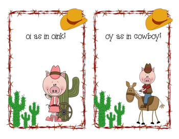 The Oinking Cowboys! Oi and oy sort!