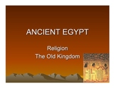 The Old Kingdom of Egypt and Religion