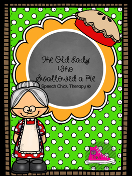 The Old Lady Who Swallowed A Pie Book Buddy