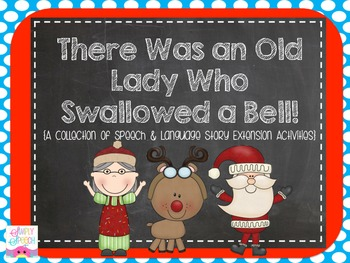 The Old Lady Who Swallowed a Bell {Speech & Language Extension Activities}