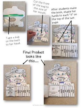 The Old Lady Who Swallowed a Fly Interactive Flip Book