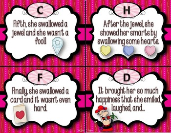 The Old Lady Who Swallowed a Rose (Lucille Colandro) ~Valentine's Day Unit