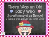The Old Lady Who Swallowed a Rose {Speech & Language Extension Activities}