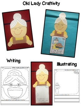 Thanksgiving - The old lady who swallowed a pie {Booklet, Craft, Sequence}