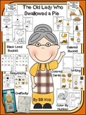 Thanksgiving - The old lady who swallowed a pie {Booklet,