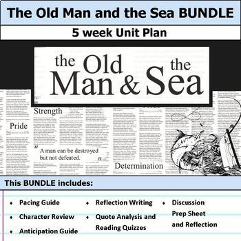The Old Man and the Sea Unit Bundle