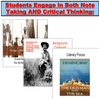 The Old Man and the Sea (Hemingway) PowerPoint