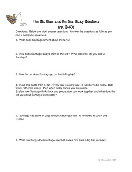 The Old Man and the Sea by Ernest Hemingway: A Complete Lesson Plan